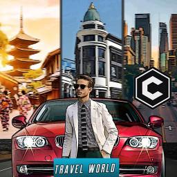 Travel World Driver - Real Car Parking Simulator
