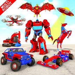 Multi Robot Car Transform Bat
