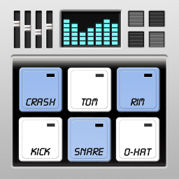 Drum Machine - Pads & Sequencer