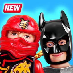 Super Ninja Costume - Construction Toys Camera
