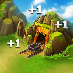 Clicker Mine Idle Adventure - Tap to dig for gold!