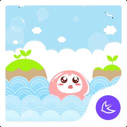 Jellyfish-APUS Launcher theme