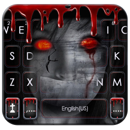Creepy Devil Keyboard Theme
