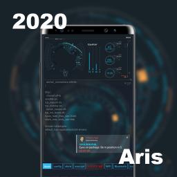 Sci-Fi Launcher -- Aris Hacker Theme