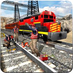Train Track, Tunnel Railway Construction Game 2019