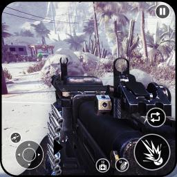 Gunner WinterLand War Guns Simulator : War weapons