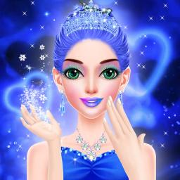 Blue Princess - Makeover Games : Makeup Dress Up