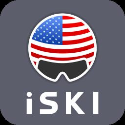 iSKI USA - Ski, Snow, Resort info, GPS tracker