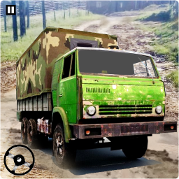 Army Truck Cargo Truck Simulator: Army Truck 3D