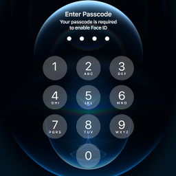 iphone 12 Lock screen