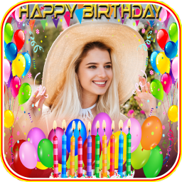 Birthday Photo frame 2018-2019 Happy Birthday