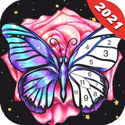 Fun Color:Coloring Games & Happy Paint by Number
