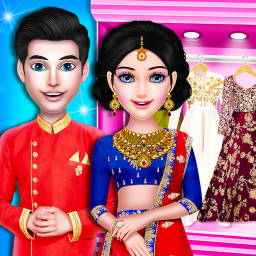 Royal Indian Wedding Dress Up and Makeover Games