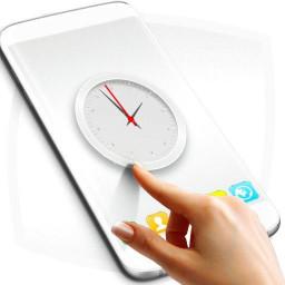 Simple White Clock 2021