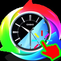 ساعتclick_change(به همراه ماشین حساب)