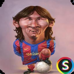 کاریکاتورهای فوتبالیست ها