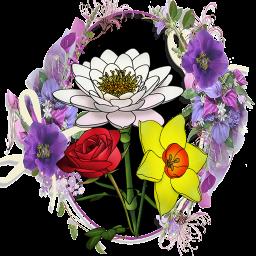 آموزش نقاشی گلها (رایگان)