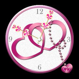 ویجت ساعت قلبی عاشقانه(دمو)