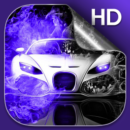 Neon Cars Live Wallpaper HD