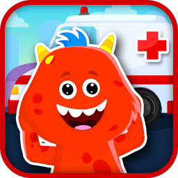 🏥 My Monster Town - Free Doctor Games For Kids 🏥