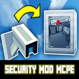Security Camera Mod📹 for Minecraft PE