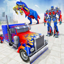 Police Truck Robot Game – Dino
