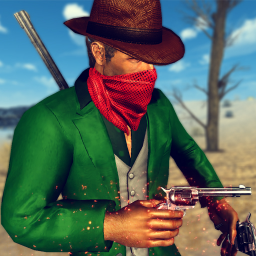 Western Cowboy Action Adventure: Street Gun Fire