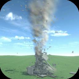 Destruction simulator: physics demolition sandbox