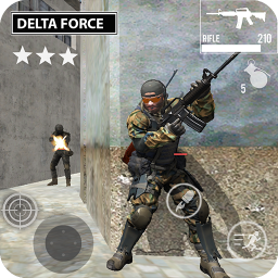 Delta Force Fury: Shooting Games
