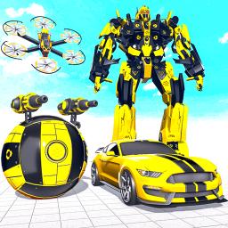 Volleyball Robot Car Game – Robot Transform Wars