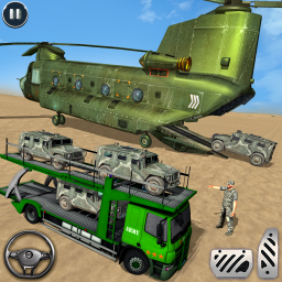 US Army Transporter: Truck Simulator Driving Game
