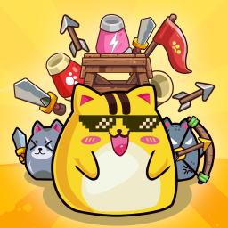 Cat'n'Robot: Idle Defense - Grow Castle TD Battle