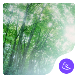 Forest Green Frees theme-APUS Launcher theme