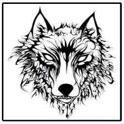 Tribal Wolf Tattoos Ideas
