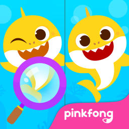 Pinkfong Spot the difference : Finding Baby Shark