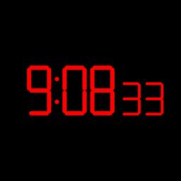 Digital Clock Seconds