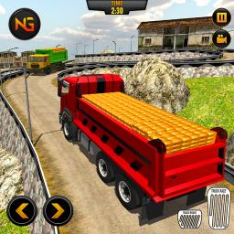 Gold Transporter Heavy Dumper Truck Driver