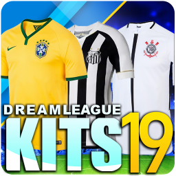 Dream League Brasileiro kits soccer Brazil