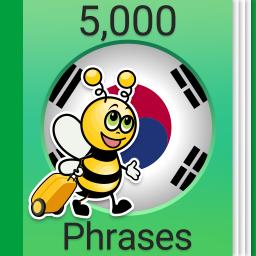 Speak Korean - 5000 Phrases & Sentences