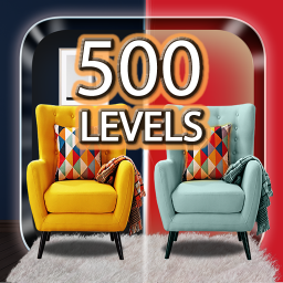 Spot the difference 500 levels – Brain Puzzle