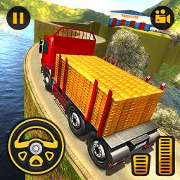 Uphill Gold Transporter Truck Drive