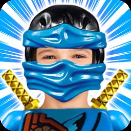 Super Costume Ninja Construction Toys Photo Editor