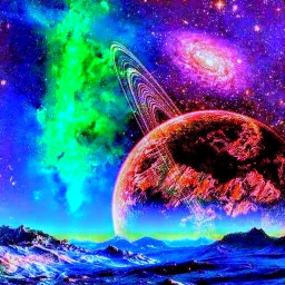 Alien Worlds Music Visualizer - UFO & UAP Chillout
