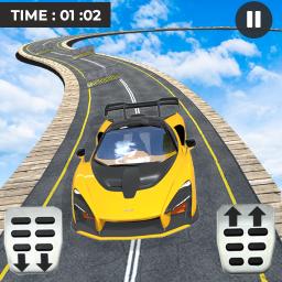 Mega Stunt Car Race Game - Free Car Games 2020