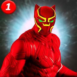 Black speed hero Monster Panther Game : Flash War
