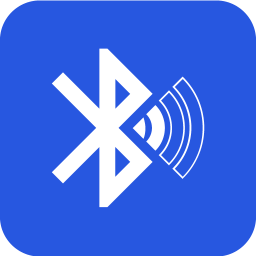 Bluetooth audio device widget: connect, play music