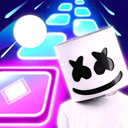 Alone - Marshmello Magic Beat Hop Tiles