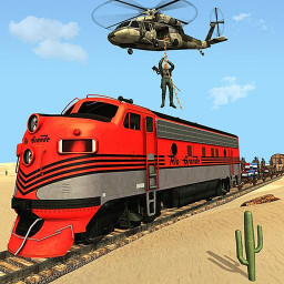 Mission Counter Attack Train Robbery Shooting Game