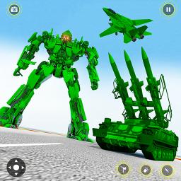 US Army Tank Transform Robot Battle War Shooting