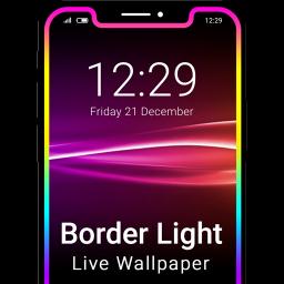 Border Light Live Wallpaper - LED Color Edge
